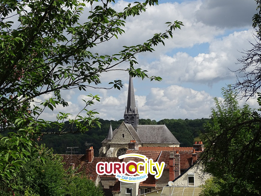 Orbais l'Abbaye vu sur l'église
