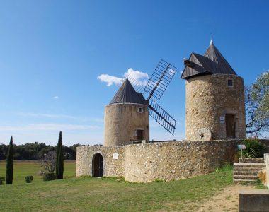Les Moulins, Régusse (83)